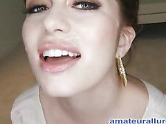 Miley is eighteen years old, very cute and that honey has returned for her first cum facial ever! This is the second time Miley has visted AmateurAllure.com, and I am going get my discharged at her this time. That Babe has an amazing, constricted body and